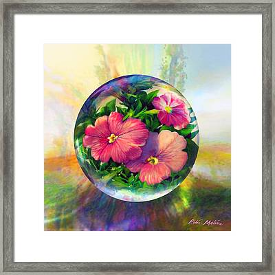 Flowering Panopticon Framed Print by Robin Moline