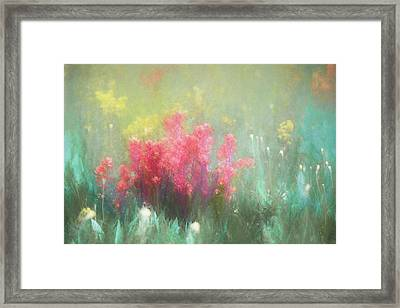Framed Print featuring the photograph Flowering Prairie by James Barber