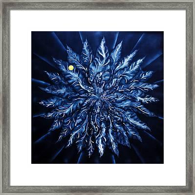 Flowermagic Life's Dream Framed Print by Walter Zettl