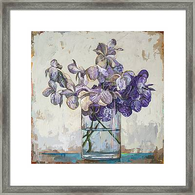 Flowers #1 Framed Print by David Palmer