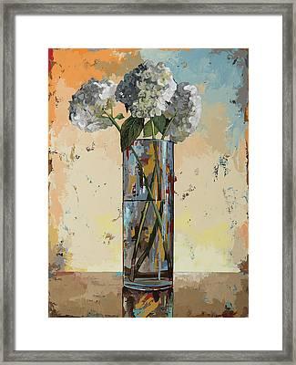 Flowers #16 Framed Print by David Palmer
