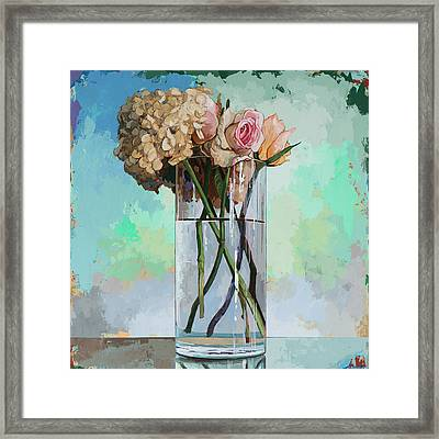 Flowers #18 Framed Print by David Palmer