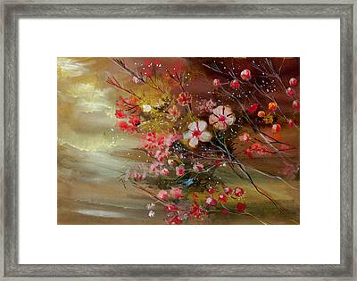 Flowers 2 Framed Print