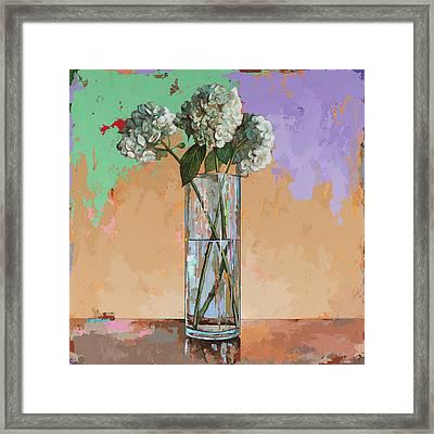 Flowers #20 Framed Print by David Palmer