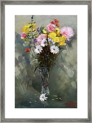Flowers 2010 Framed Print