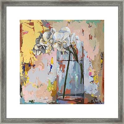 Flowers #3 Framed Print by David Palmer