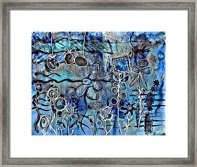 Flowers 41 Framed Print by Judy Bernier