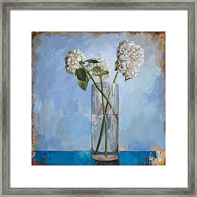 Flowers #5 Framed Print by David Palmer