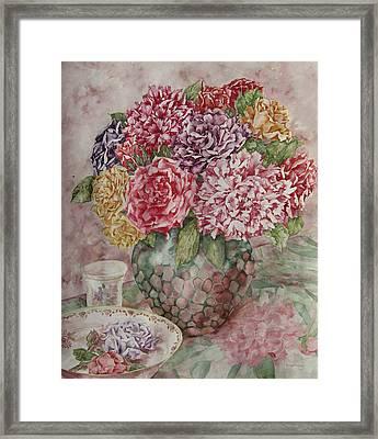 Flowers Arrangement  Framed Print