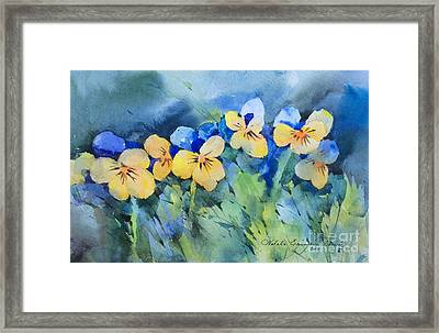 Flower's Beauty Framed Print