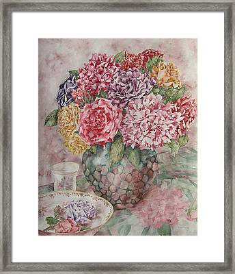 Flowers Arrangement  Framed Print