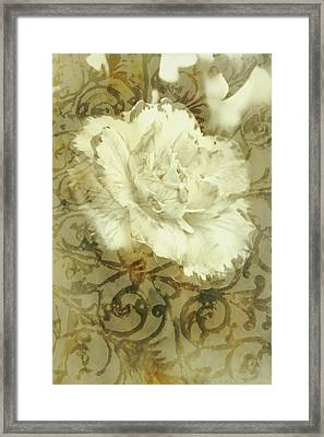 Flowers By The Window Framed Print