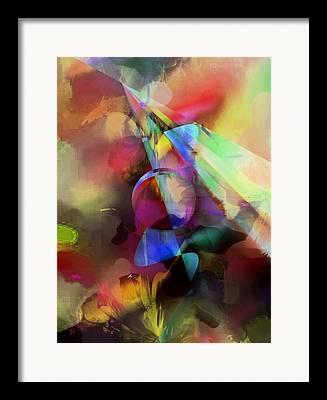 Contemporary Art Framed Prints