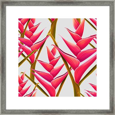 Flowers Fantasia   Framed Print by Mark Ashkenazi