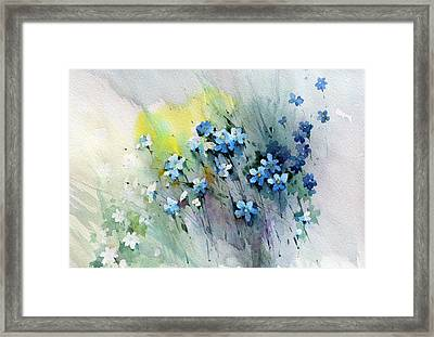 Flowers Fantasy Framed Print