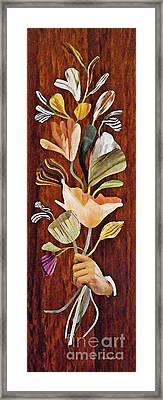 Flowers For Catherine Framed Print