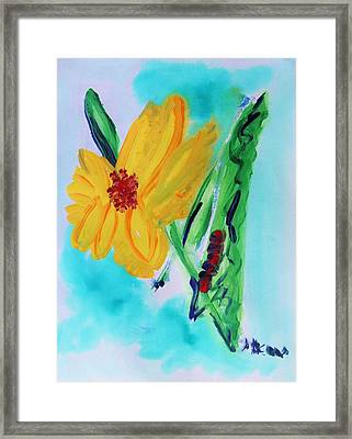 Flowers From Eden 1 Framed Print by Mary Carol Williams