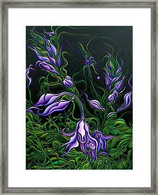 Flowers From The Failed Fiction Framed Print