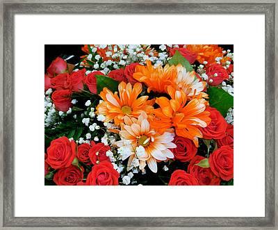 Flowers In Flower Shop 10 Framed Print