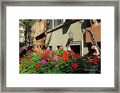 Upper West Side, New York Framed Print