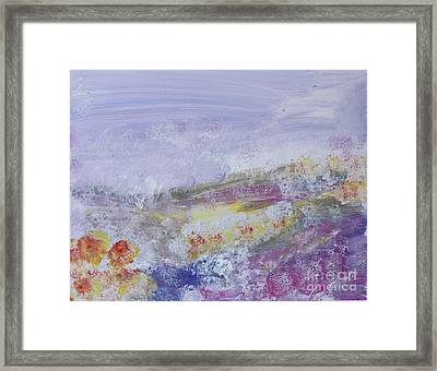 Flowers In The Ether Framed Print