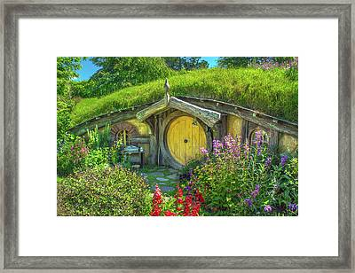 Flowers In The Shire Framed Print