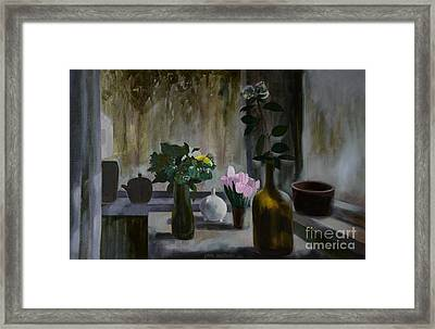 Flowers Framed Print by Jukka Nopsanen