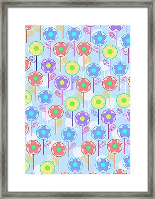 Flowers Framed Print by Louisa Knight