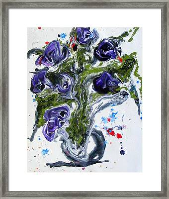 Flowers Of The Mind Framed Print