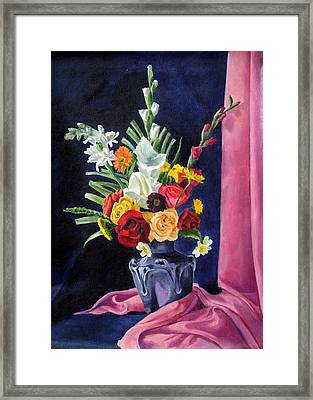 Flowers Pac Framed Print by Rabindra Meher