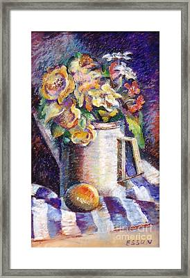 Flowers Framed Print by Stan Esson