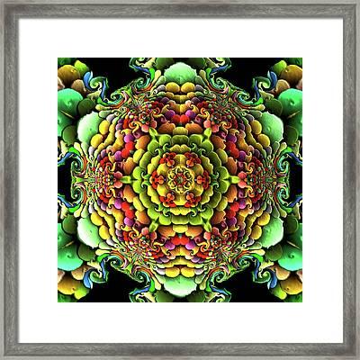 Flowerscales 61 Framed Print