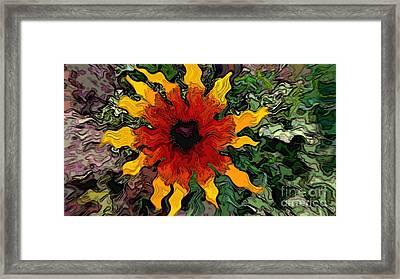 Flowerworks Framed Print