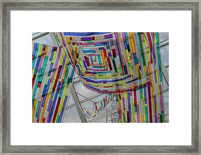Flowing Color II Framed Print by Suzanne Gaff