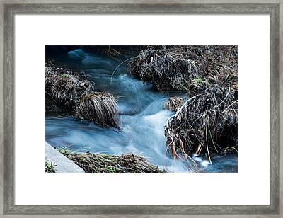 Flowing Creek Framed Print