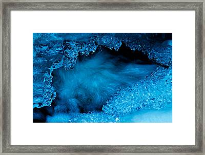 Flowing Diamonds Framed Print by Sean Sarsfield