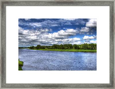 Flowing Down The River Framed Print
