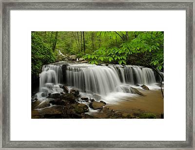 Flowing Easy Framed Print