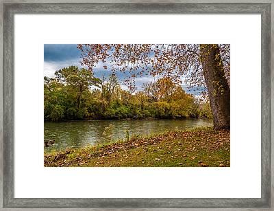 Flowing River Framed Print