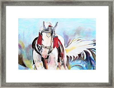 Flowing Tail Framed Print