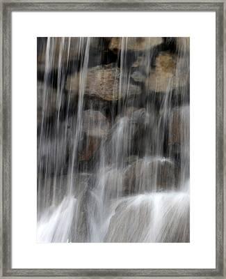 Flowing Veil Framed Print