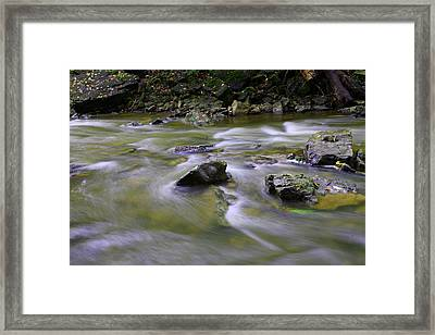Flowing Water 2 Framed Print by Mark Platt