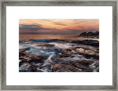 Flowing Waters Framed Print