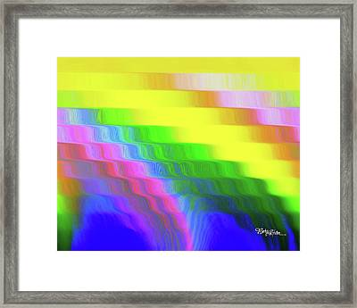 Flowing Whimsical #113 Framed Print by Barbara Tristan