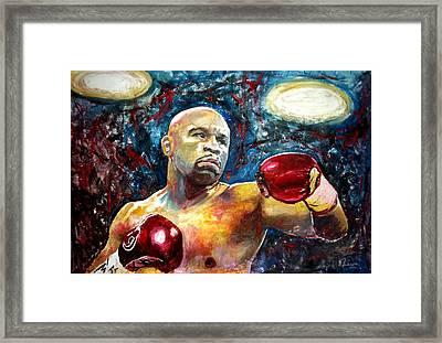 Floyd Mayweather Framed Print