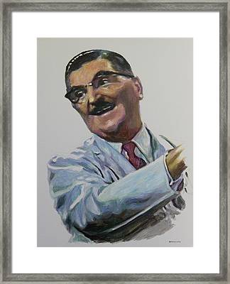 Floyd The Barber In Color Framed Print