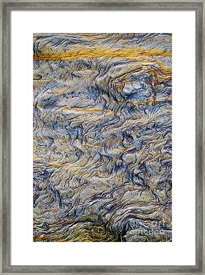 Fluctuation Framed Print by Tim Gainey