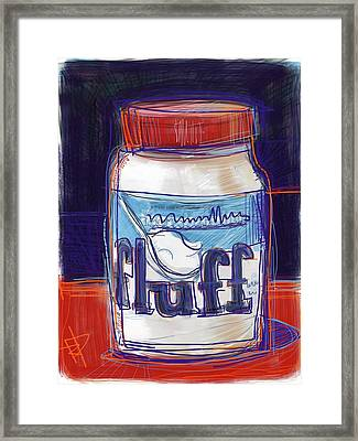 Fluff Framed Print by Russell Pierce