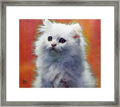 Fluffy Princess Framed Print