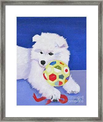 Fluffy's Portrait Framed Print